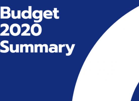 Budget 2020