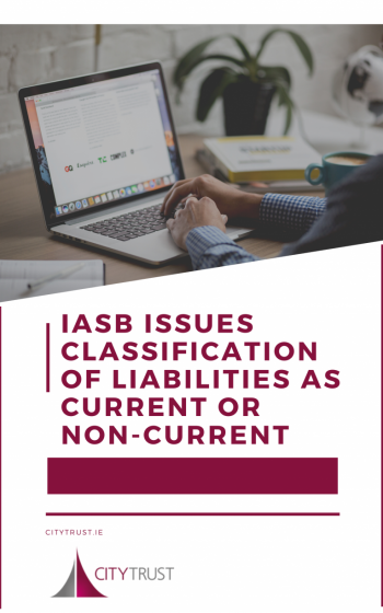IASB Issues Classification of Liabilities as Current or Non-Current