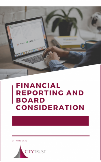 Financial Reporting and Board Consideration